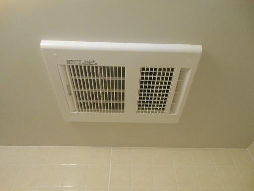 乾燥機能付き換気扇の交換