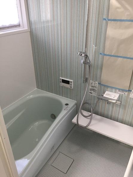 浴室内でもう湯沸しなんかしない!