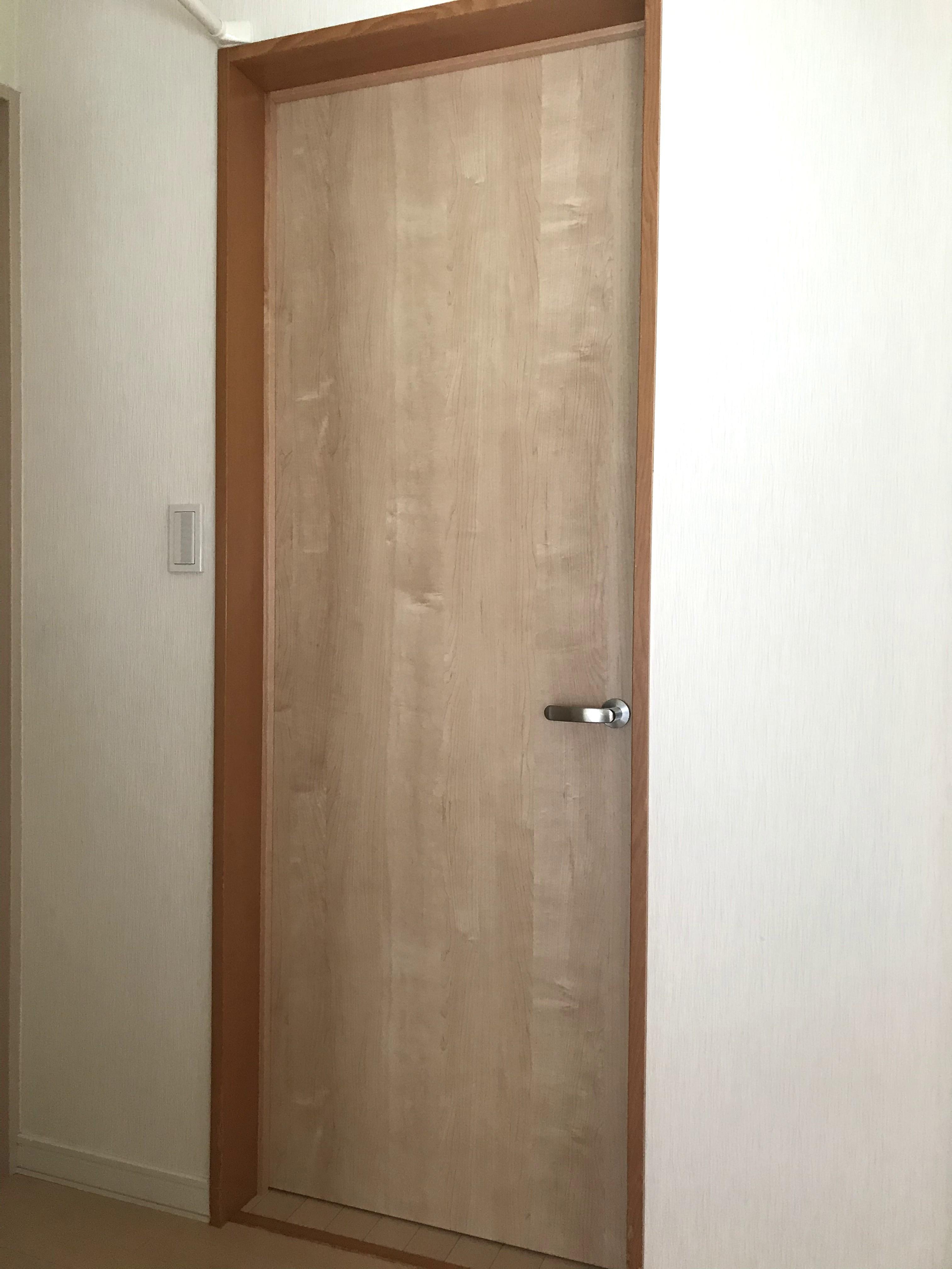室内ドア新設